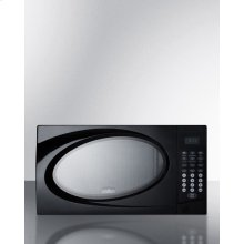 Mid-sized Microwave Oven With Black Finish