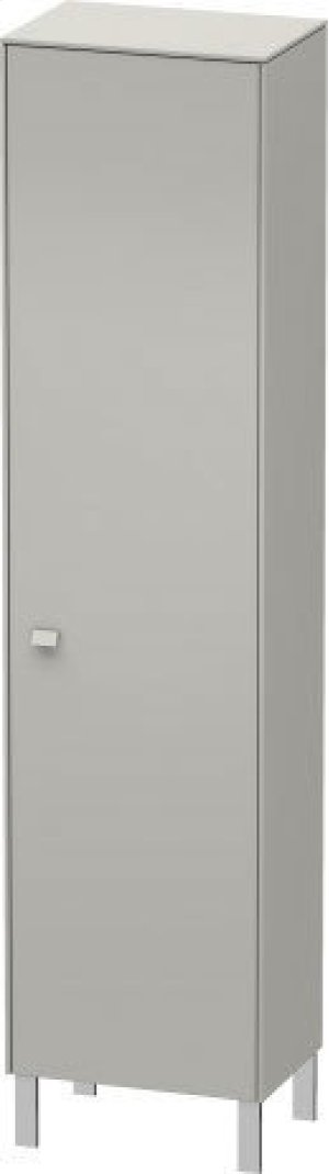 Tall Cabinet Individual, Concrete Gray Matte (decor) Product Image