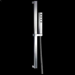 Chrome H 2 Okinetic ® Single-Setting Slide Bar Hand Shower Product Image