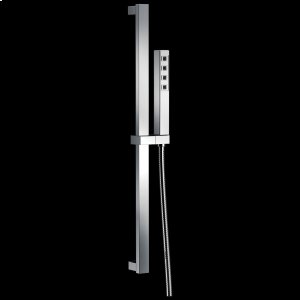 Chrome H 2 Okinetic ® Single-Setting Slide Bar Hand Shower Product Image