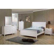 Selena Twin Sleigh Bed