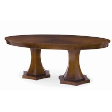 Tribeca Double Pedestal Dining Table