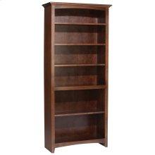 """CAF 72""""H x 30""""W McKenzie Alder Bookcase"""