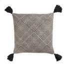 Tanner Pillow Cover Charcoal Product Image