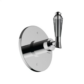 3-way Wall Mount Diverter in Unlacquered Brass