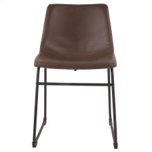 Centiar - Two-tone Brown Set Of 2 Dining Room Chairs