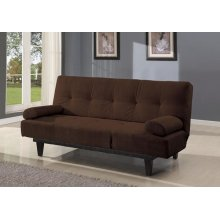BROWN ADJUSTABLE SOFA