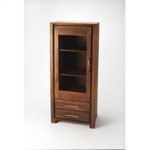 Featuring ample storage space for stowing china, stemware, and linens, this elegant display cabinet brings polished style to your dining room,bedroom or parlor decor.