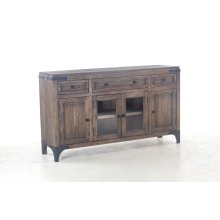 "Colonial Plantation Sideboard 66"" Weathered Teak"