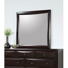 Phoenix Transitional Deep Cappuccino Mirror