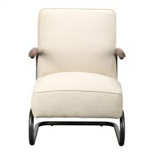Perth Club Chair Beige Fabric