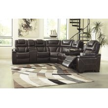 Warnerton - Chocolate 3 Piece Sectional