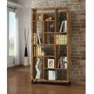 Rustic Antique Nutmeg Bookcase Product Image