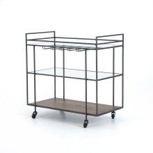 Byron Bar Cart-dark Iron