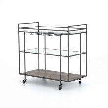 Byron Bar Cart-dark Iron