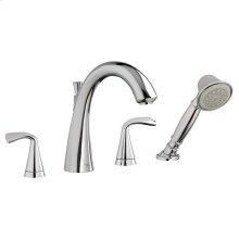 Fluent Deck-Mount Bathtub Faucet  American Standard - Polished Chrome