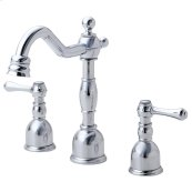Chrome Opulence® Two Handle Widespread Lavatory Faucet