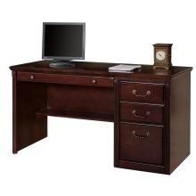 Single Pedestal Computer Desk
