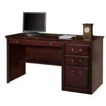 Single Pedestal Computer Desk