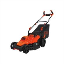 10 Amp 15 in. Electric Lawn Mower with Comfort Grip Handle