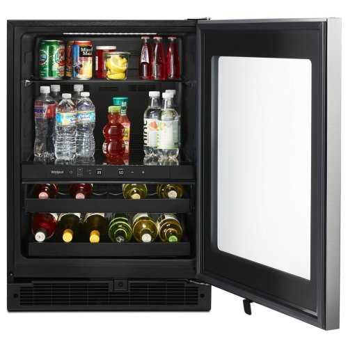 24-inch Wide Undercounter Beverage Center with Towel Bar Handle- 5.2 cu. ft.