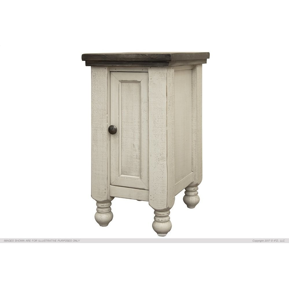 1 Door Chairside Table