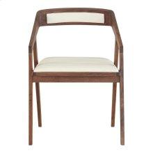 Padma Arm Chair White Pvc