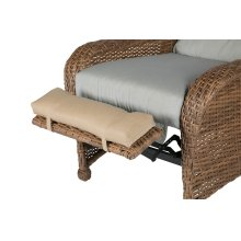 Wicker Recliner Foot Pad