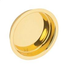 Door Hardware  Flush Door Pull - Bright Brass