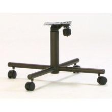 Espresso Tilt-swivel Chair Base 2pk