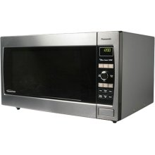 Luxury Full-Size 2.2 cu. ft. Countertop/Built-In Microwave Oven with Inverter Technology, Stainless