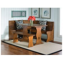 Shown with Trestle Table and Corner Nook Unit