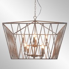 Wyatt Chandelier Large w/Bulb
