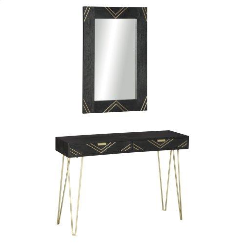 Console Table w/Mirror (2/CN)