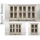 "Rustic Shores Scrimshaw 48"" Accent Cabinet Product Image"