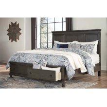 Devensted - Dark Gray 3 Piece Bed Set (Cal King)