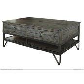 Cocktail Table w/2 Drawer & Storage