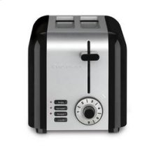 2 Slice Compact Stainless Toaster