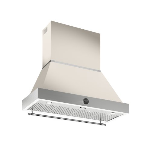 48 Wallmount Canopy and Base Hood, 1 motor 600 CFM Avorio