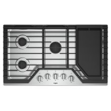 36-inch Gas Cooktop with Griddle