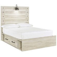 Cambeck - Whitewash 4 Piece Bed Set (Full)