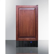 """18"""" Wide Built-in Undercounter All-refrigerator With A Panel-ready Door, and Digital Thermostat"""