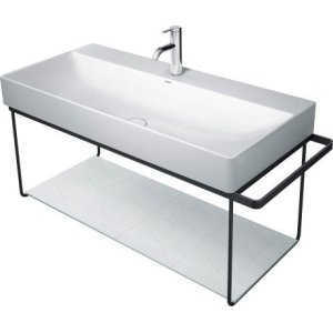Durasquare Metal Console Wall-mounted Chrome