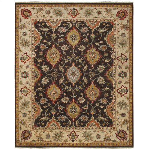 Eminence Chocolate Hand Knotted Rugs