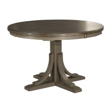 Clarion Round Dining Table - Distressed Gray