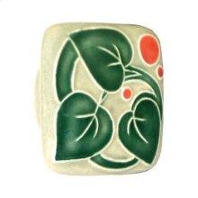 Large Square Ceramic Knob