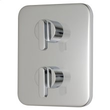 Moments 2-Handle Thermostatic Valve Trim Kit - Polished Chrome