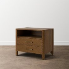 MODERN Catania 2 Drawer Nightstand