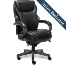 Hyland Executive Office Chair, Jet Black