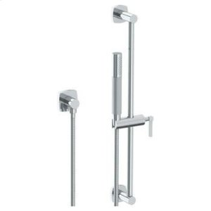 """Positioning Bar Shower Kit With Slim Hand Shower and 69"""" Hose Product Image"""